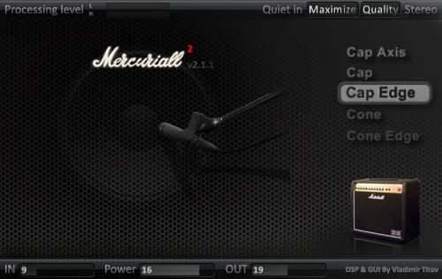 Mercuriall Cab 2.1 vst plugin gratuit