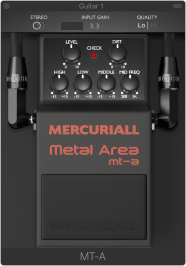 Mercuriall Metal Area mt-a