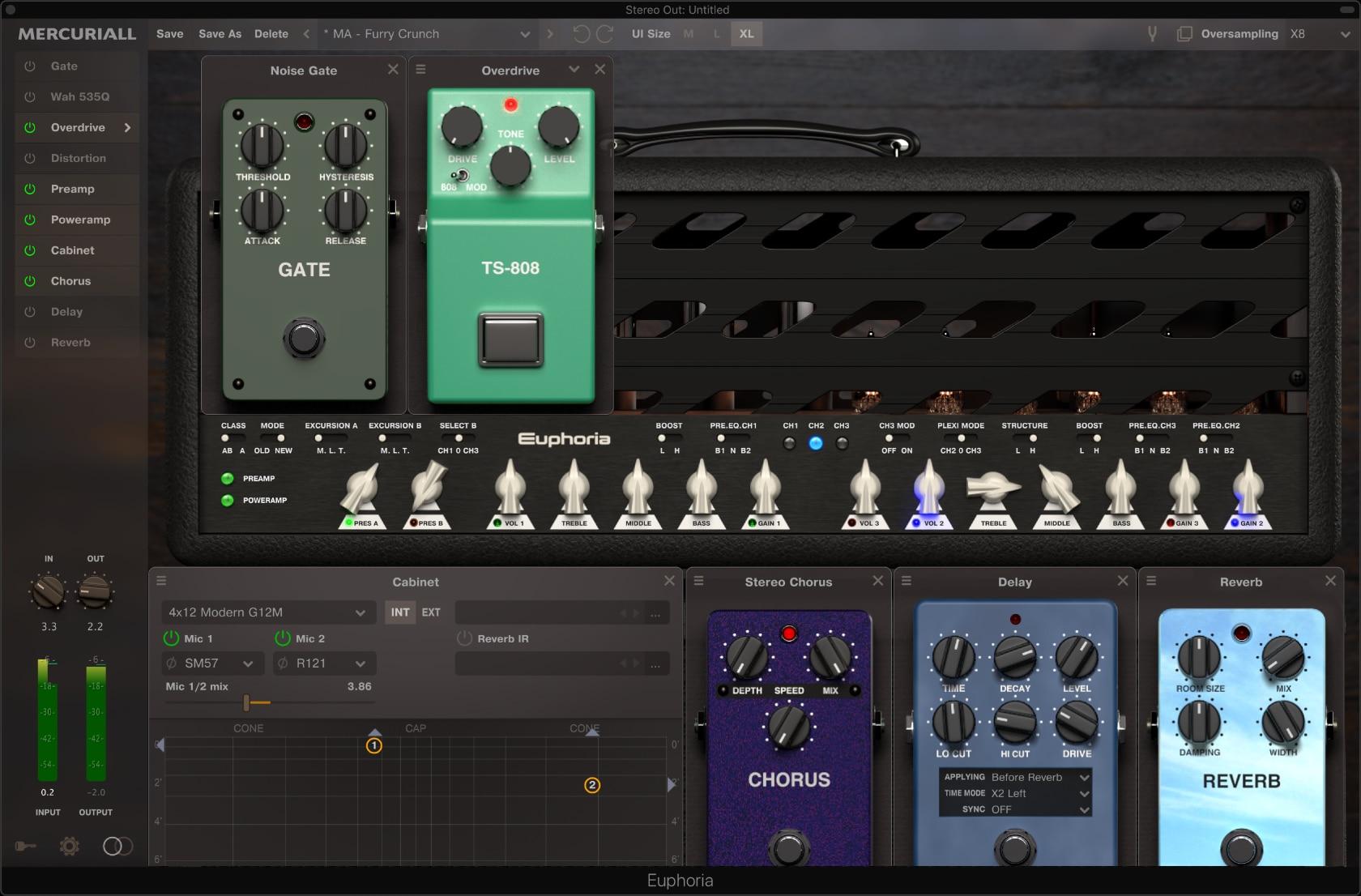 Mercuriall Audio Software- Euphoria